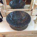 Partie supérieure du comptoir en pierre normale en gros de cuisine de granit de perle de bleu de perle de Giallo