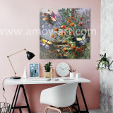 Flower and Butterfly oil Painting for Home Decor