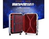 紫色カラーHardshellの荷物スクラッチ証拠の荷物旅行荷物のスーツケース