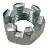 Les noix de château hexagonales affinent la classe 8 de la classe 6 de l'amorçage DIN 935 galvanisée