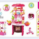 Кухня 2018 игрушки игры роли для кухни игрушки малышей цветастой деревянной установила для кухни игрушки горячего сбывания детей деревянной для младенца
