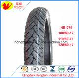 Neumático sin tubo de la motocicleta del neumático de la venta caliente con 180/55-17