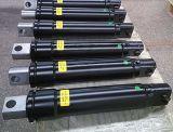 Tirante de madeira da forquilha das raspadoras que levanta o cilindro hidráulico personalizado