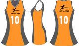 Healongスポーツのための最新のパターンデジタルプリントネットボールの服