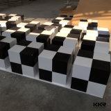 Superfície sólida personalizados Kingkonree banho poliban tamborete para Hotel