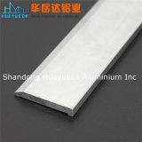 Perfiles de aluminio de plata anodizados para las puertas y Windows