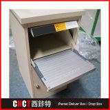 잘 고정된 안전한 소포 납품 상자