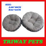Weiches bequemes Flanell-Hundebett (WY161076-4A/B)