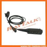 Écouteur de déconnexion rapide avec boutonnière pour PTT Sepura STP800/stp9000