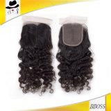 Un accessorio dei capelli di una chiusura superiore dei 3.5 brasiliani