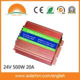 (HM-24-500-N) 20A 관제사를 가진 24V500W 태양 잡종 변환장치