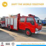 Isuzu 4X2 336HP水および泡の消火活動のトラック
