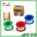 Embalaje plástico del estaño del yeso de seda, emplasto adhesivo de seda, cinta de seda médica