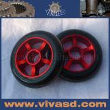 Patins em linha Rodas de borracha Metal Core Scooter Wheels