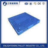 Paleta plástica amontonable resistente para el almacenaje del almacén