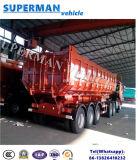 30-35cbm 팁 주는 사람 트레일러를 기울이는 세 배 차축 모래 석탄 수송 덤프