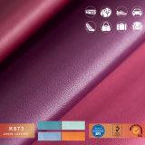 Elegante bolsa de couro para simulação, Sofá e decoração, couro artificial