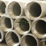 un formato del tubo del tubo del filtro a sipario del cuneo 304 316L del filtro per pozzi dell'acqua 9-5/8