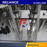 Volumen diferente en el frasco de vidrio Máquina de Llenado y Tapado