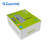 Zoomtak Meilleures ventes Quad Core 64bit 4k Uhd Smart TV Box T8H