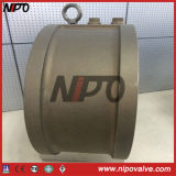 Zwischenflanschklappe Double Disc Schaukel Bronze Rückschlagventil (Aluminiumbronze)