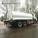 Camion di autocisterna del serbatoio di Bowser dell'acqua di Sinotruk HOWO 16m3 da vendere