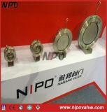 Klep van de Controle van de Schommeling van de Plaat van het Type van Wafeltje van Nipo de Enige