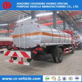 La Chine 4X2 de la marque petit pétrolier d'huile moteur 10000 litres Prix de la capacité du réservoir de carburant