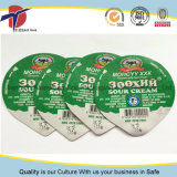 WegwerfplastikAluminiumfolie-Deckel des cup-220ml für Joghurt