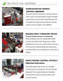 Automatische drei Zeilen Superhochgeschwindigkeitsshirt-Beutel, der Maschine herstellt