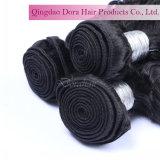 Brasilianische Haar-Webart-lockiges Art-konkurrenzfähiger Preis-Fabrik-Verkaufs-Jungfrau-Haar