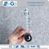 Type liquide en plastique de bride de détecteur d'écoulement d'eau de compteur de débit de rotamètre
