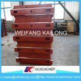 Línea de moldeado de fundación del precio bajo caja de moldeo usada para la fundición