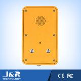 Intercomunicación Industrial de montaje en pared, teléfono manos libres, botón de emergencia Teléfono