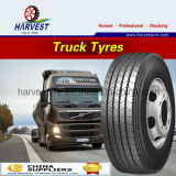 Toda la tracción radial de acero pone un neumático 12r22.5