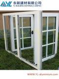 Heiße Verkaufs-französische Art-Aluminiumfenster mit Dekoration-Gitter