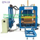 Máquina de fabricação automática de bloco de tijolos hidráulica de média capacidade da China