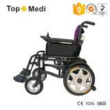 身体障害者のための安い折りたたみの電力の車椅子の価格