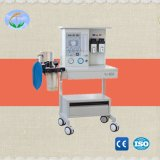 Neue 2 Vaporizers-Ausrüstungs-Anästhesie-Maschine