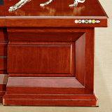 Mesa executiva do escritório executivo de madeira contínua da mobília de China grande