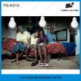 Het navulbare Draagbare Licht van het Huis van de ZonneMacht met het Laden van de Telefoon (ps-K015)