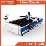 Machine de découpage de laser de fibre de commande numérique par ordinateur avec le tube professionnel de découpage fabriqué en Chine
