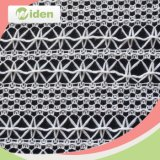 Tela nupcial del cordón Tela al por mayor del acoplamiento del algodón y del nilón del acoplamiento