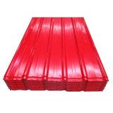 Panneau de toit recouvert de couleur avec des prix concurrentiels
