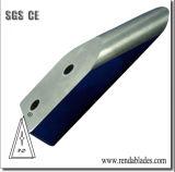 Las aspas en forma especial de sierra con dientes de cuchillas para la industria de la carne de patatas frutas vegetales
