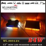 Sinal de advertência ambarino mini Lightbar do diodo emissor de luz