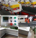 Cuatro cabezales de soldadura de alta frecuencia de la máquina para puertas y ventanas de PVC