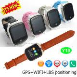 GPS+Lbs+WiFi (Y19)の3G大人GPSの追跡者の腕時計