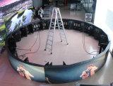 실내 P3 풀 컬러 안내장 또는 실린더 발광 다이오드 표시 (6m/2m의 직경)