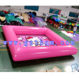 Hello Kitty Cartoon Inflatable Pool / High Quality Cheap Inflatable Pool
